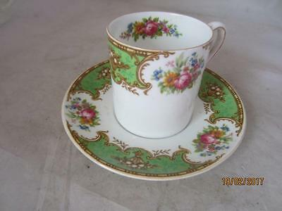 Vintage Shelley Coffee Cup & Saucer
