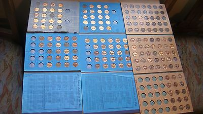 3 Books of Lincoln Copper Penny 1946 to 1970's Coin Collection