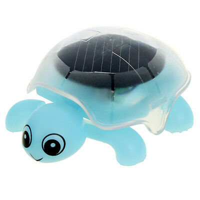 Lovely Solar Energy Power Funny Fun Gadget Turtle Tortoise Trick Kids Gift Toy