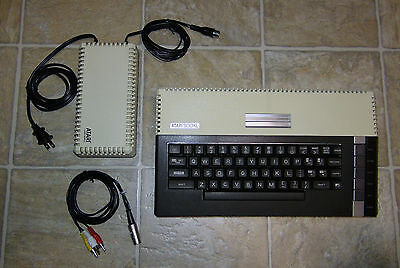 Atari 800XL Computer System Console WORKS FULLY SOCKETED w/ Composite Video