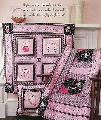 Oodles Of Poodles Quilt Pattern Pieced BC