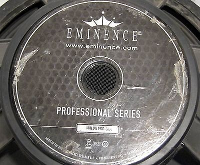"""Eminence Omega Pro-18A Professional Series 18"""" Vented Replacement PA Speaker"""