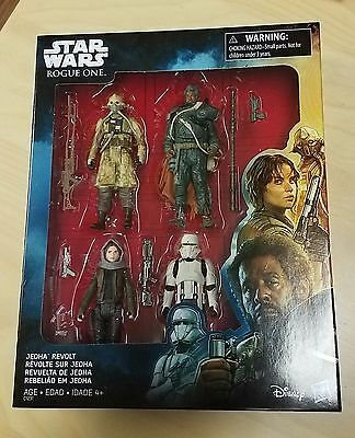 Star Wars Rogue One Jedha Revolt 3.75 Action Figure Set IN STOCK