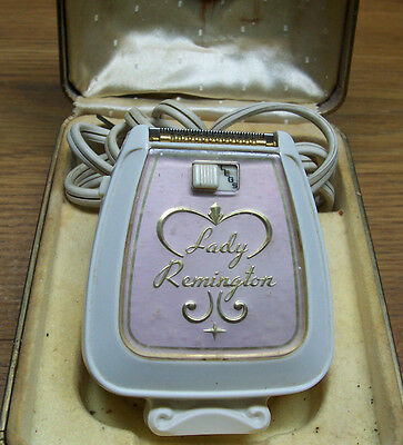 Vintage (Model BL) Lady Remington Electric Razor and Cord/Case (Works) Lot#A19