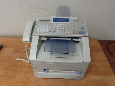 BROTHER INTELLIFAX FAX 4750E Business Class Laser Fax Machine w/Toner Drum WORKS