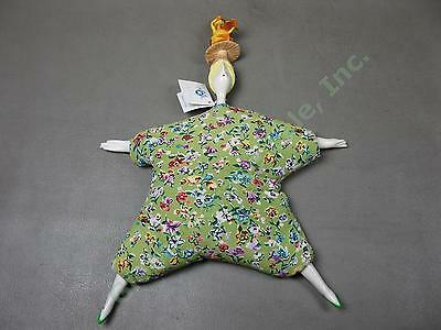 Vtg 1998 Original Poupee Ceramic Millet Doll W/Tag Signed By Serge Chichportich