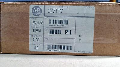 1771-IV - Low True 24VDC - 8 point Input - NEW in original boxes