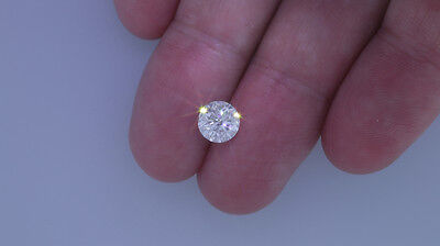 1.52 Carat Round Brilliant Loose Diamond - E Color SI2 Clarity Enhanced #D3472