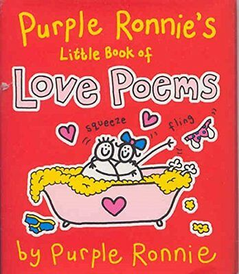 Purple Ronnie's Book of Love Poems by Andreae, Giles Hardback Book The Cheap