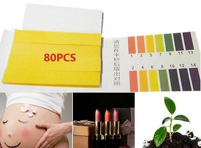 PH Test Strips Aquarium Pond Water Testing pH Litmus Paper for body water plant✿
