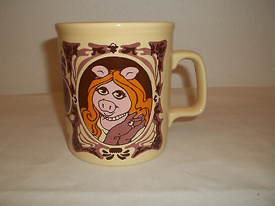 1978 Kiln Craft Muppet Show Miss Piggy Mug Coffee Cup Made In England