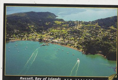 Russell Bay Of Islands New Zealand Postcard 474a