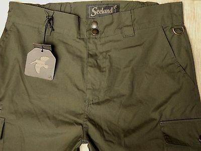 "34""-35"" Seeland Kiernan Green Shooting Trousers Hunting Stalking Pants New L33"""