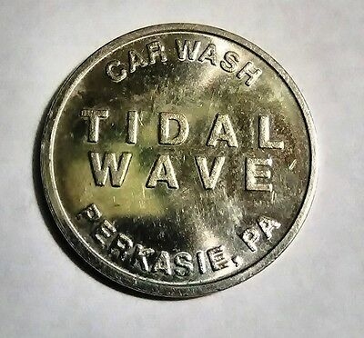 Tidal Wave Car Wash Token Perkasie / Warminster PA