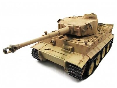1:16 Mato Complete 100% Metal Tiger I Tank (Airsoft/ Desert Yellow/Ready to Run)