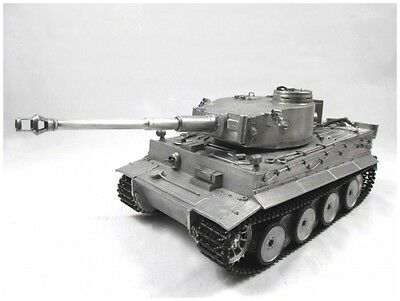 1:16 MATO Complete 100% Metal Tiger I Tank (Airsoft / Original Metal Color /RTR)