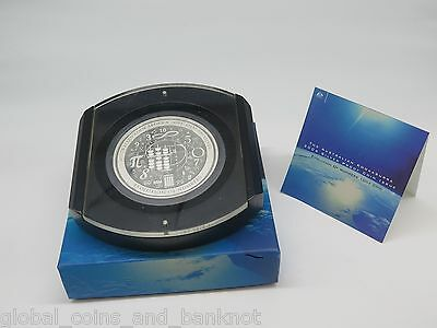 Australia - 2004 $10 Evolution Of Numbers 10 oz Silver Proof  Coin