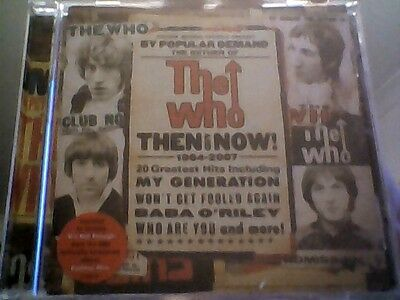THE WHO -  THEN AND  NOW   - 20 GREATEST  HITS  CD    new  sealed