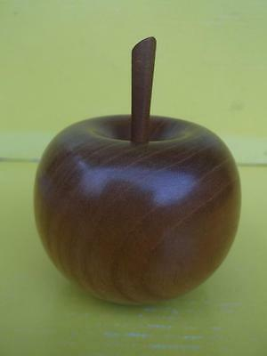 219 / Very Nice Hand Carved Wooden Apple