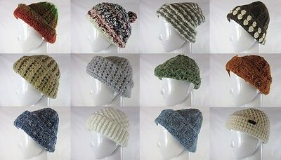 100 X Womens Thick Knitted Hats Slouchy Beanie Joblot Wholesale Clearance