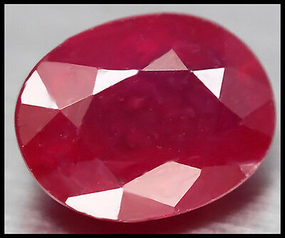 AUSTRALIAN SELLER! GORGEOUS 3.69ct NATURAL RICH RED PINK MADAGASCAR RUBY OVAL