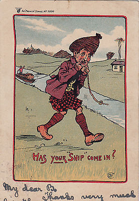 CANAL HUMOUR  HAS YOUR SHIP COME IN pu 1904