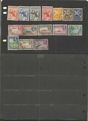 Curacao 15 Mint & Used Stamps.   See Scan