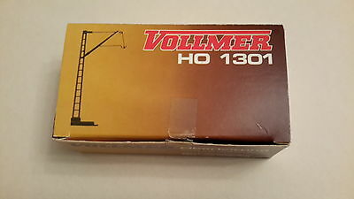 HO Vollmer catenary mast 1301 - pack of 10 (ten) long arm masts - new unused