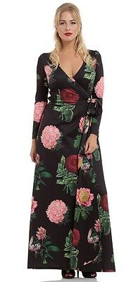 ****Voodoo vixen retro vintage maxi dress ****size  14**XL**