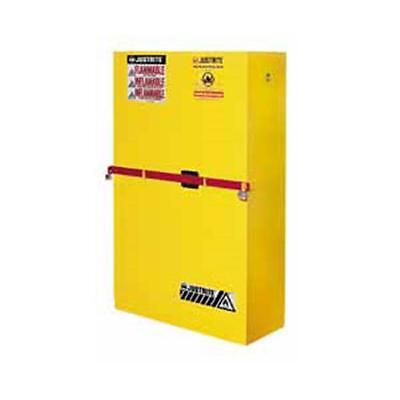 Justrite SC29884Y 45 Gallon Sc High Security Cabinet With Draw Bar