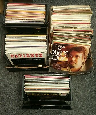 Joblot of 300+ LPs. Stage, Soundtracks/Musicals, Classical,Folk, Vocal ...MIXED