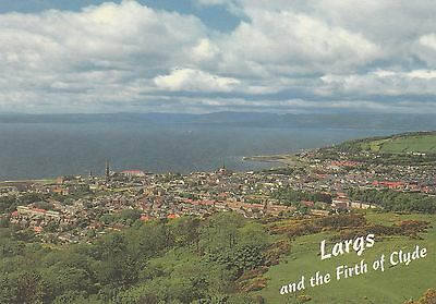 Postcard - Largs - Largs and the Firth of Clyde
