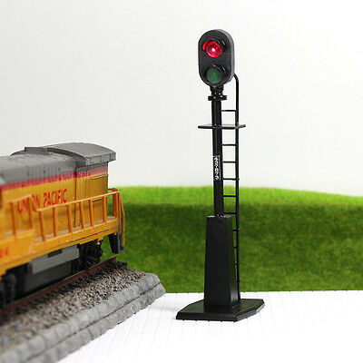JTD484RG 5PCS O scale LEDs made Railroad Signals for Railway signal 2 Aspects