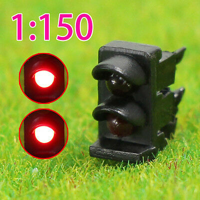 JTD1501RR 5PCS N scale LEDs made Dwarf Signals for Railway signal 2 Aspects
