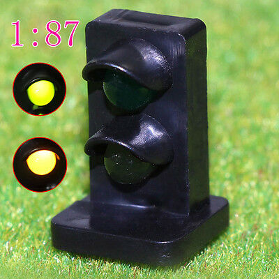 JTD871GY 5PCS HO scale LEDs made Dwarf Signals for Railway signal 2 Aspects