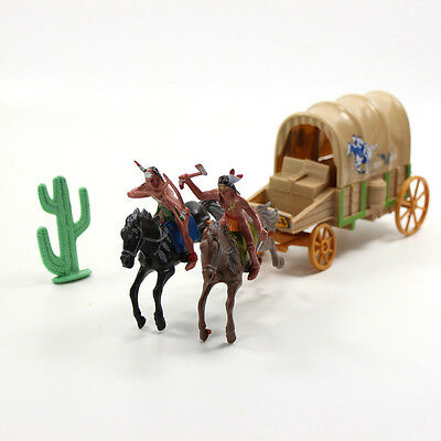 P2519 Moldel Indian and Carriage Tribes The Best Wild West Western Region Cowboy