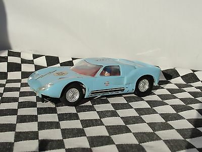 Scalextric  1960's Ford Gt40  Blue  #15  1.32  Used Unboxed