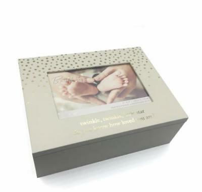 Baby Keepsake Box Twinkle Twinkle Little Star Baby Gift New CG1353