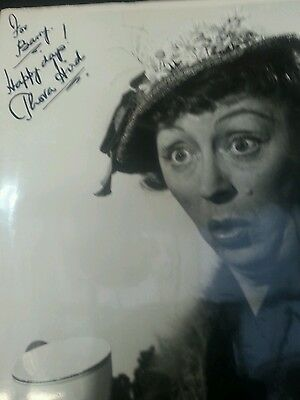 Autograph 10x8 photo signed by Thora Hird