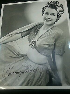 Autograph 10x8 photo signed by Rosemary De Camp