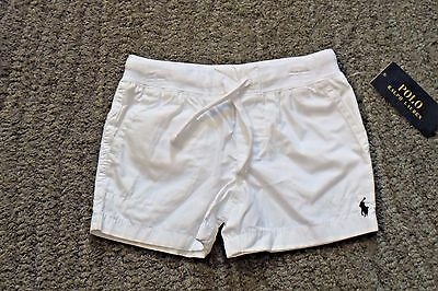 Ralph Lauren Toddler Girls White Shorts - Size 2T - NWT