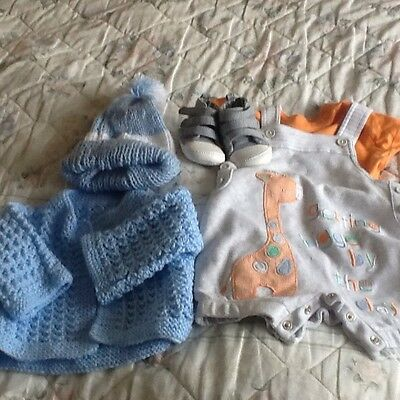 Baby boys bundle of new clothes 0-6 months