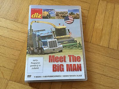 Landtechnik DVD MEET THE BIG MAN # Krone BiG X 1100 in den USA + NEU