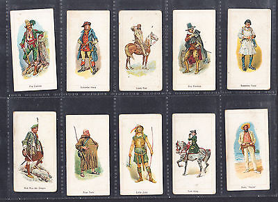 Carreras 'Highwaymen' cigarette cards, part collection of series.
