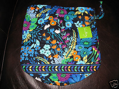 Vera Bradley MIDNIGHT BLUES Ditty Bag Lunch Packing Tote NWT