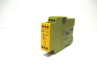 Pilz PNOZ X2.1 24VAC/DC 2N/O Safety Relay 24 Vac