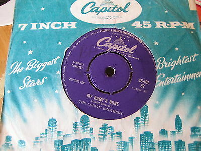 The Louvin Brothers - My Baby's Gone  1959    Vinyl Good