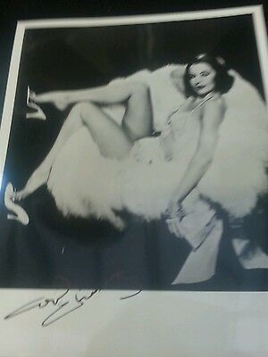 Autograph 10x8 photo signed by Cyd Charrise