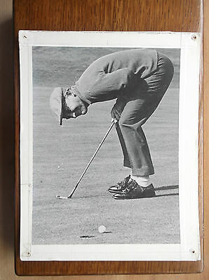 Bing Crosby Playing Golf Photograph/print 10.5 X 8 Inches Black And White
