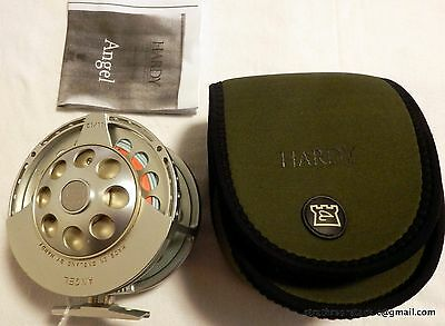 Hardy Angel MK1 #11/12 Salmon Fly Reel + Pouch etc Made in England